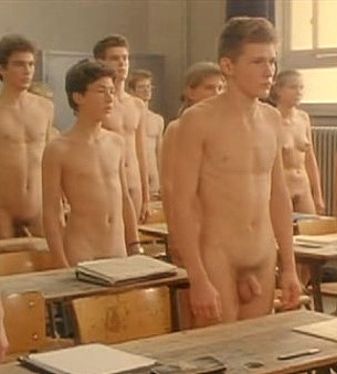 naked school boys