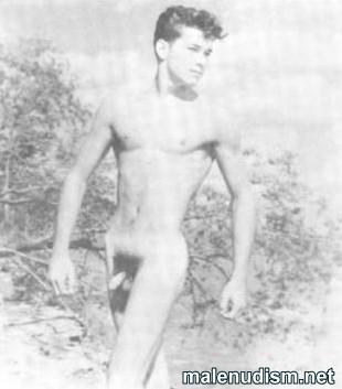 handsome nude boy