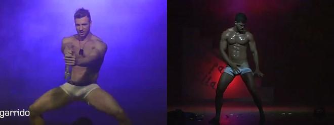 Solo para ellas male strippers