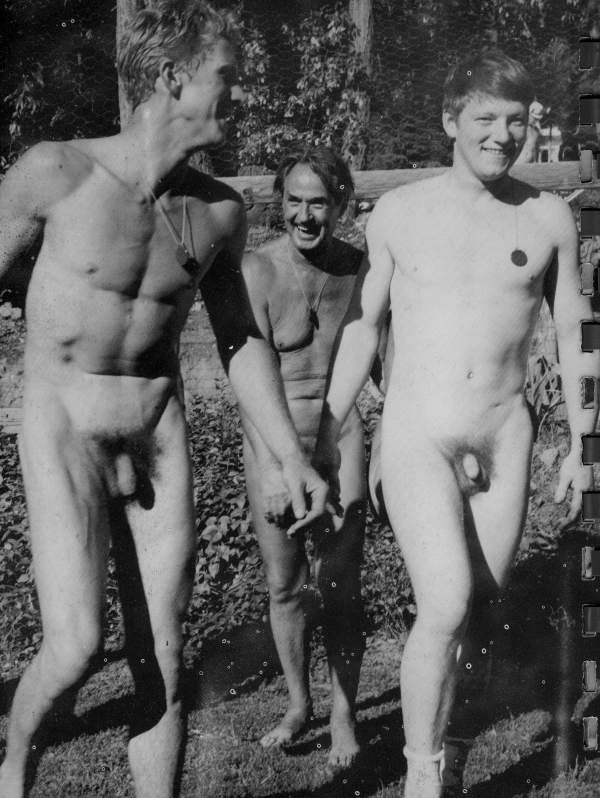 a group of naked guys