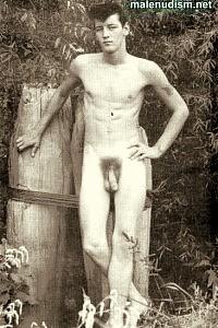 nude boy with big balls