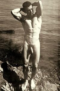 male nudist with huge dick