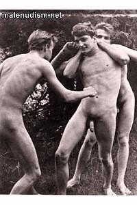 three boys nudists